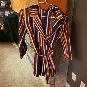 New with Tags, Forever 21 Multicolored Romper